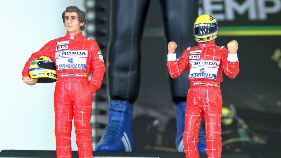 Ayrton Senna action figures