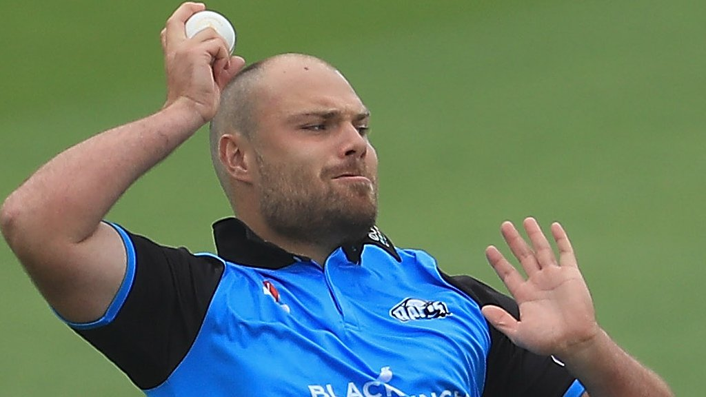 Joe Leach: Worcestershire captain out for season with back stress fracture