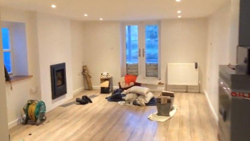 Johnny Boylan's living room