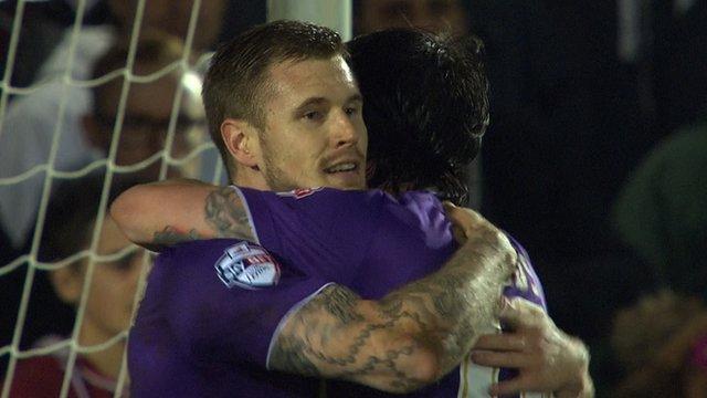 FA Cup: Maidenhead United 1-3 Port Vale highlights