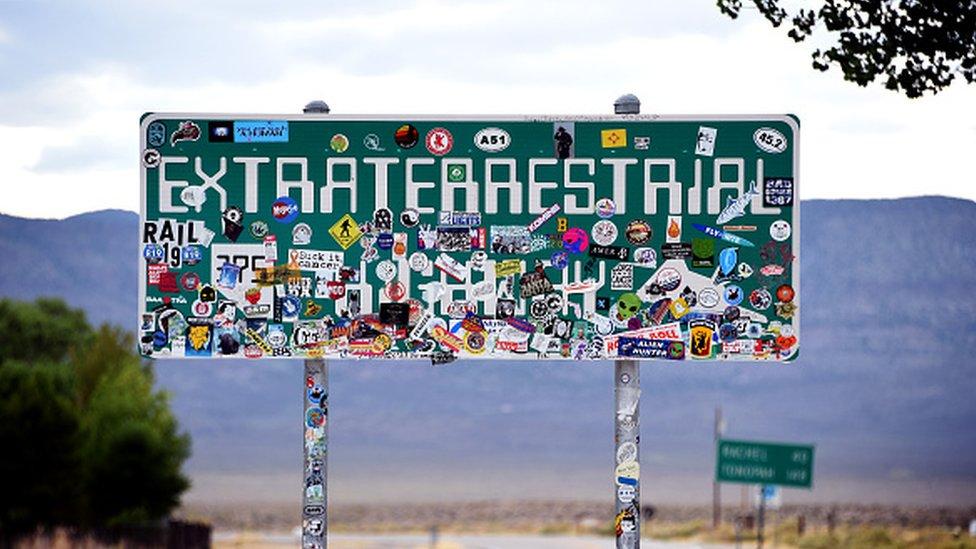 """""""Autopista de los extraterrestres""""."""