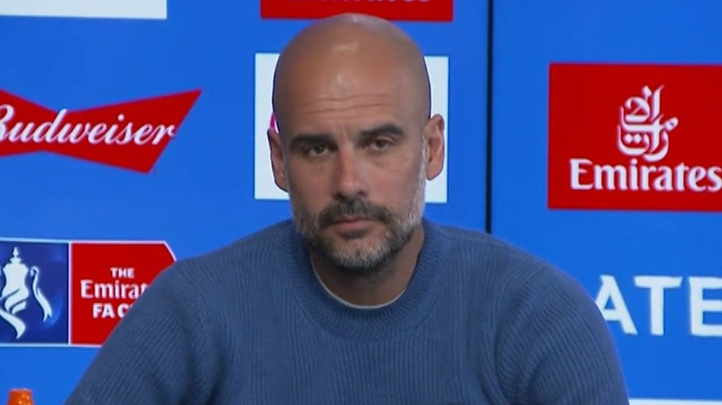 Pep Guardiola: First domestic treble? 'The women have done it'