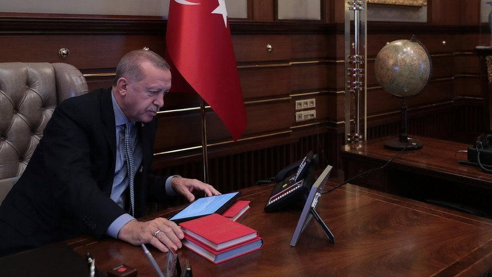 """الرسالة حثت الرئيس اردوغان على ألا يكون """"أحمق"""""""