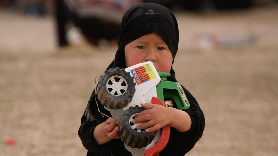 Islamic State: The women and children no-one wants