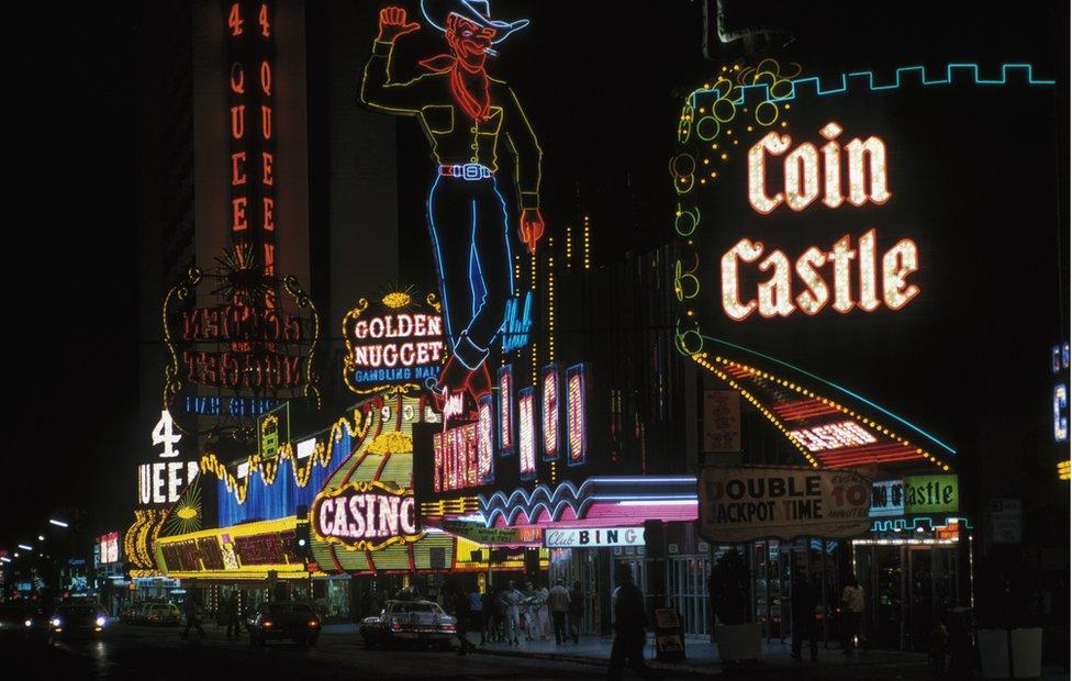 Las Vegas in the 1970s
