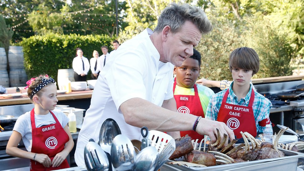"Gordon Ramsay described Watkins as ""a talented home cook and even stronger young man""."