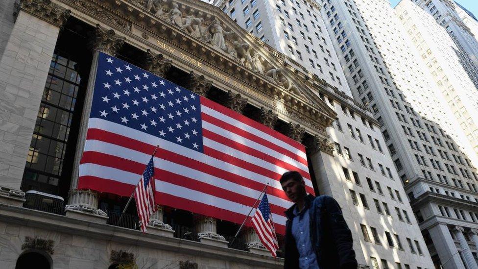 Facade of NYSE