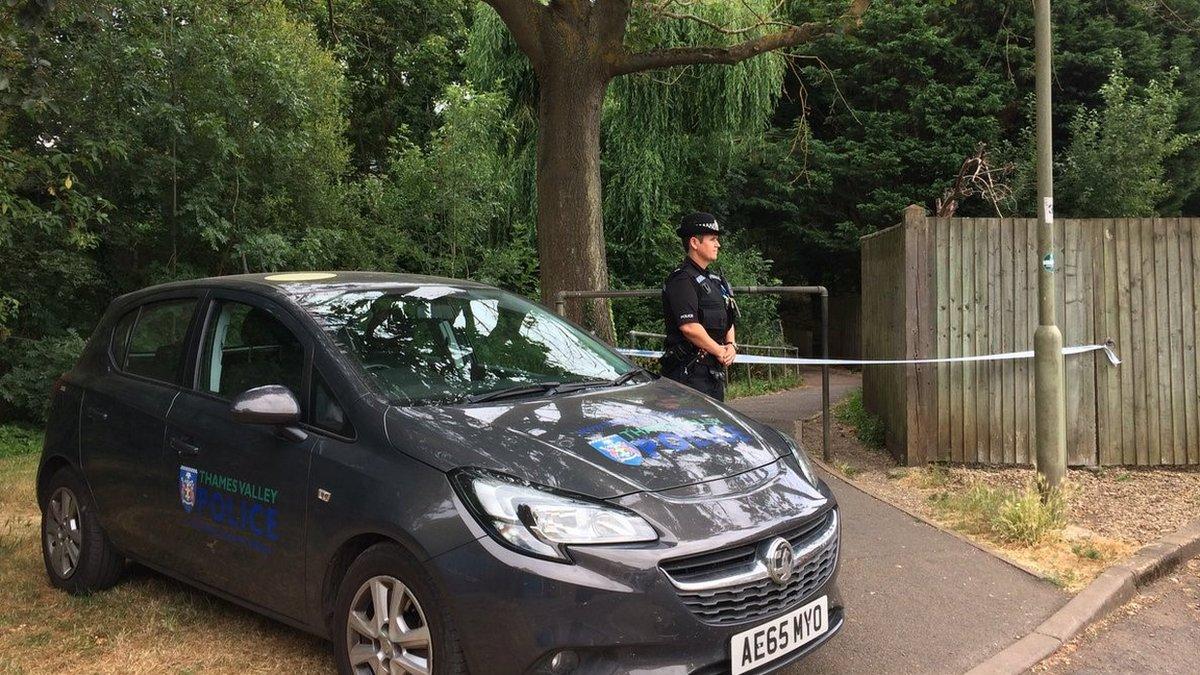 Abingdon stabbing: Teenager arrested over 'random attack'