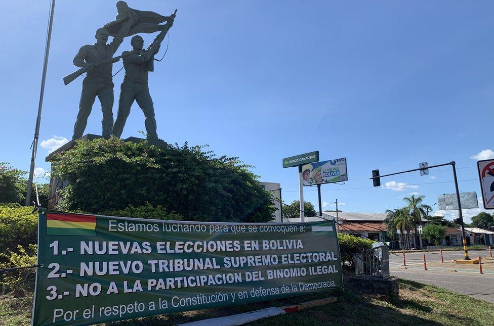 Movilizaciones en Santa Cruz