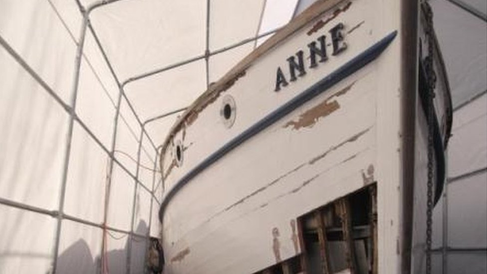 The Anne, before restoration