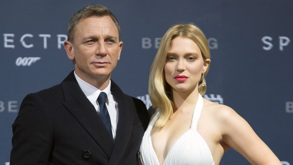 Daniel Craig and Lea Seydoux