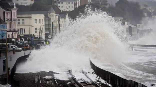 Dawlish sea wall: £80m to protect battered rail line