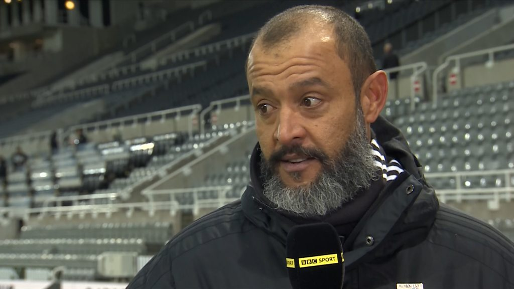 Newcastle 1-2 Wolves: Nuno Espirito Santo 'proud' of Wanderers' display