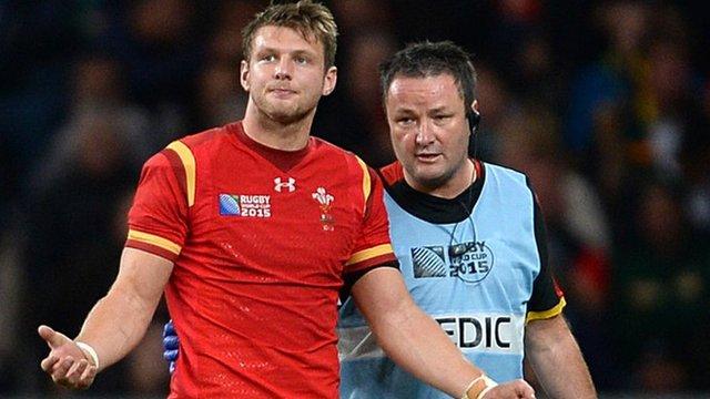 Dan Biggar comes off against South Africa
