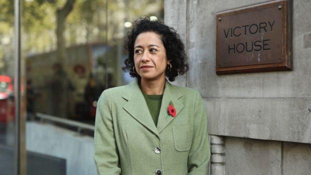 BBC女主持人薩米拉·阿赫邁德(Samira Ahmed)在勞工法庭打贏一場針對BBC的官司