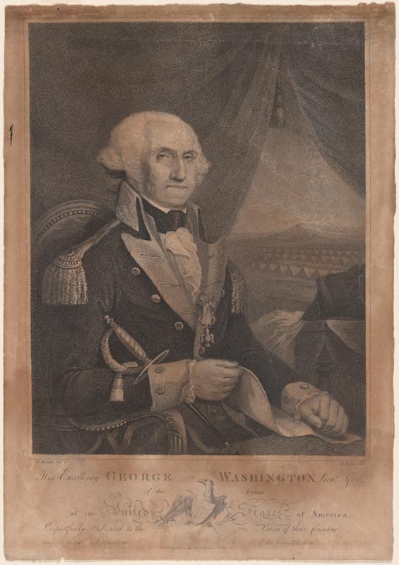 George Washington 1789.