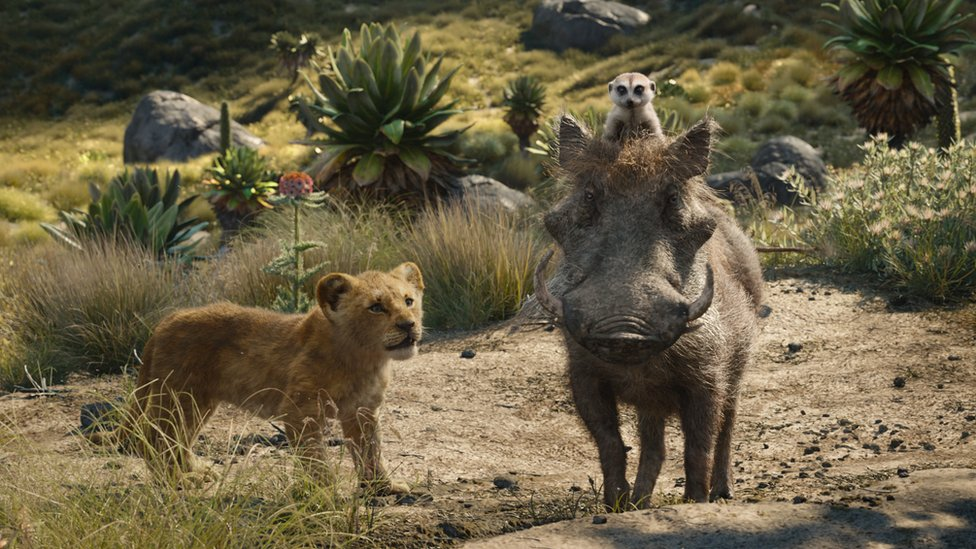 Scena iz Kralja lavova