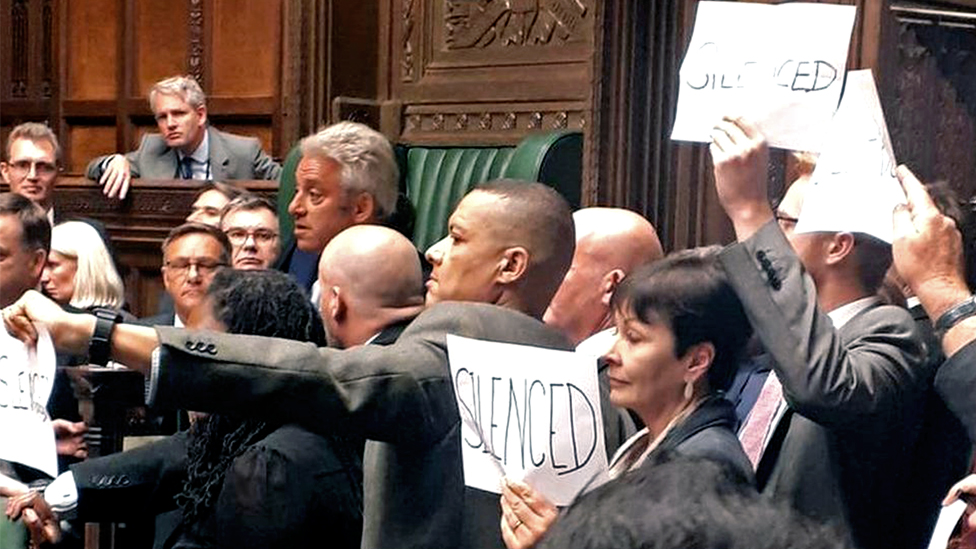 protests in commons