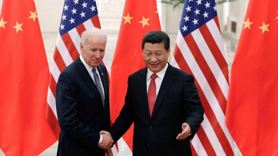 Biden y Xi Jingpin