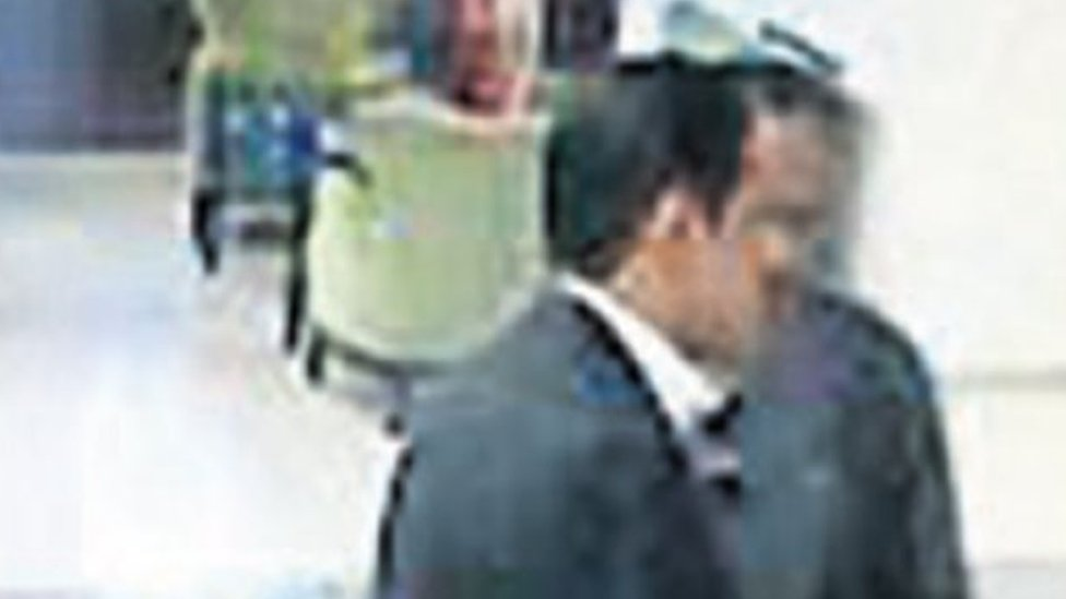Istanbul airport CCTV footage purportedly showing Thaar Ghaleb T Alharbi on 2 October 2018