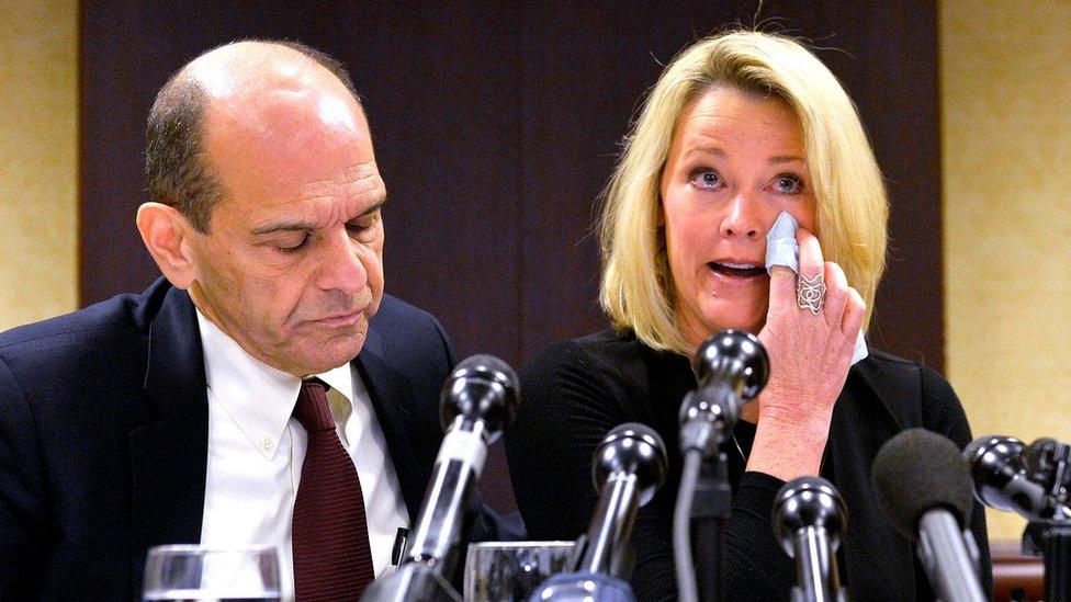 Heather Unruh acusó el año pasado a Spacey de haber agredido sexualmente a su hijo.