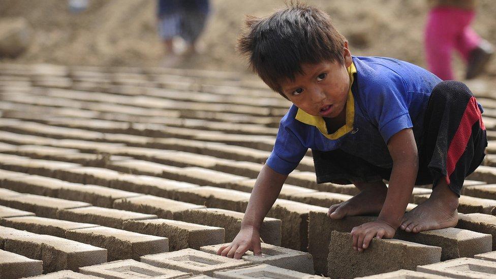 Pobreza en Perú.