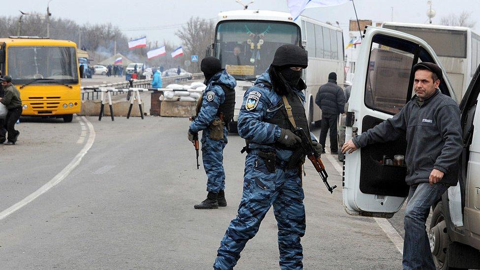 Guerra en Crimea.