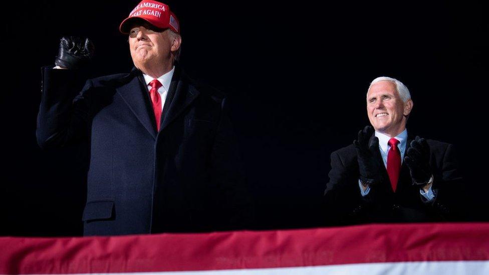 Trump supporters rally as Congress set to confirm Biden win