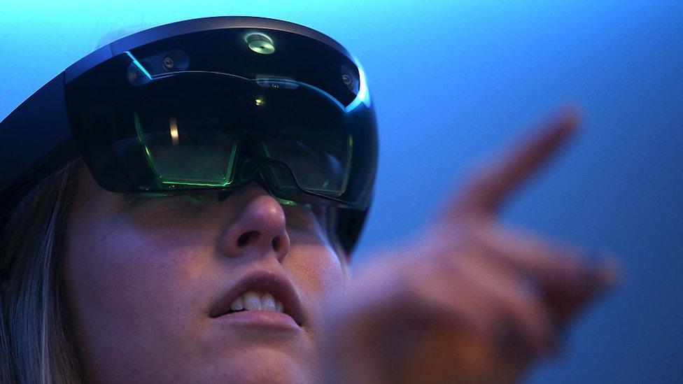 gafas HoloLens