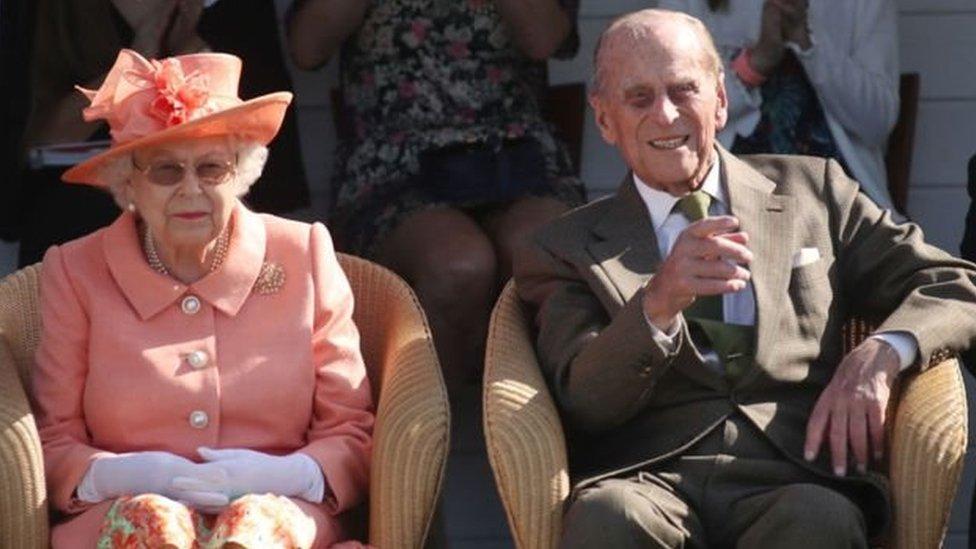 Kraliçe II. Elizabeth ve Prens Philip