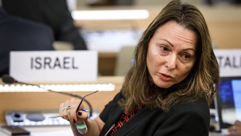 Embajadora de Israel ante la ONU, Aviva Raz Shechter.