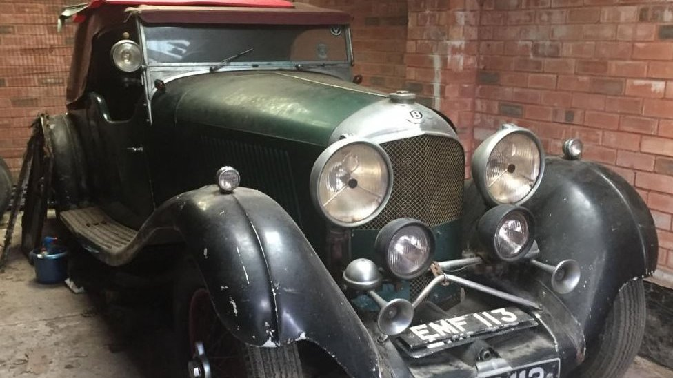 Rusty Bentley found in Stockport garage sells for £450k