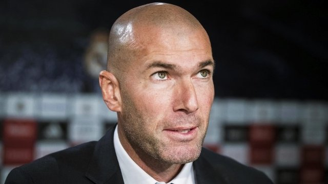 New Real Madrid manager Zinedine Zidane