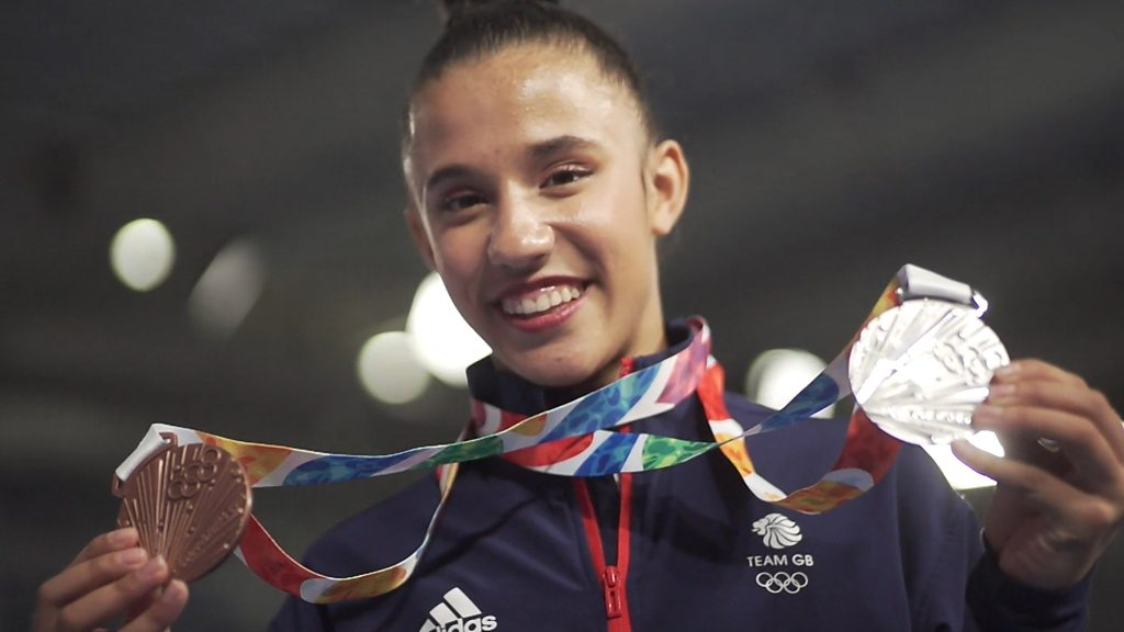 Youth Olympic Games: GB's Amelie Morgan wins two more gymnastics medals