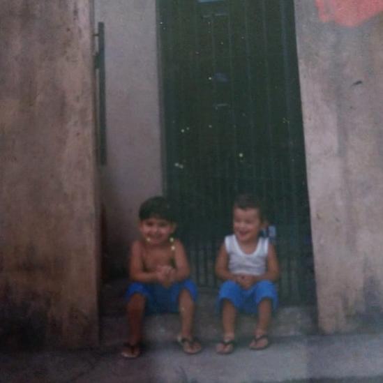 Victor na infância