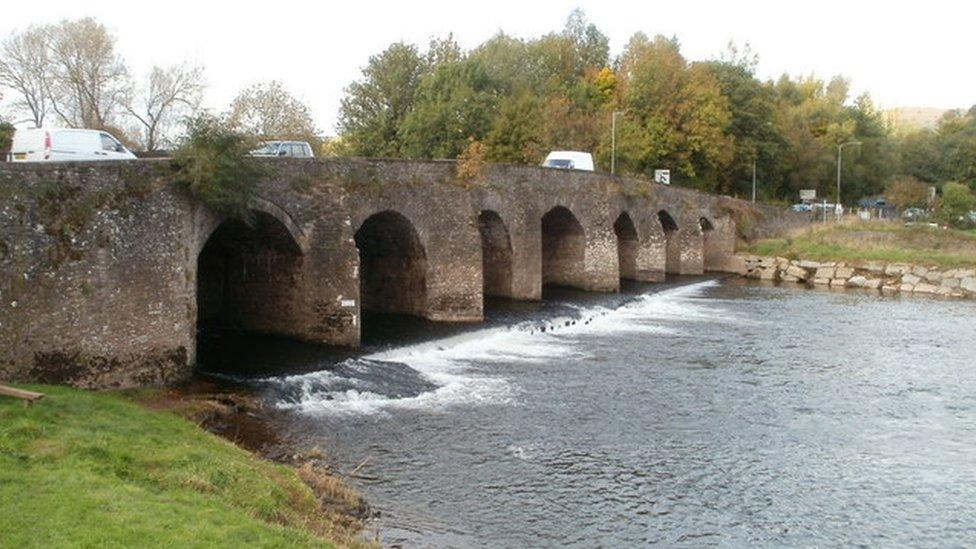 Afon Wysg
