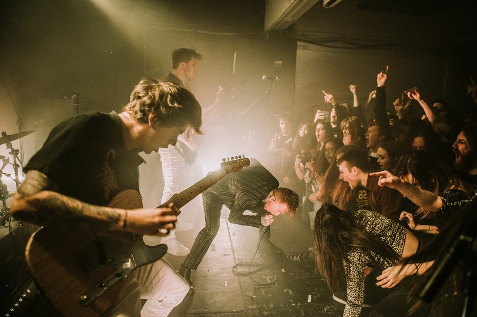 Frank Carter &The Rattlesnakes in Belfast