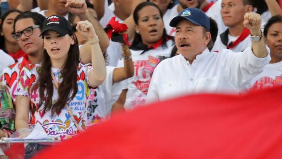 Ortega y su hija