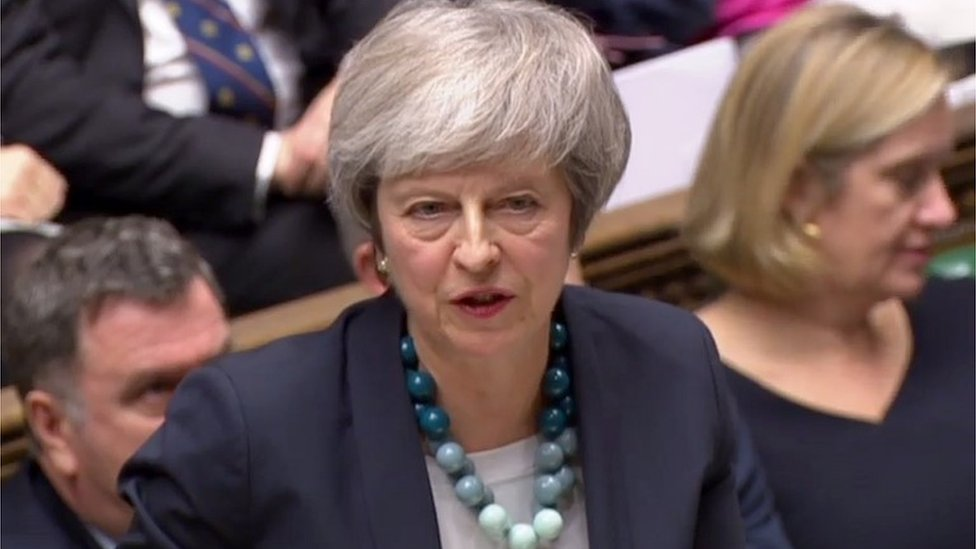 Brexit: Theresa May asks MPs 'does this House want to deliver?'