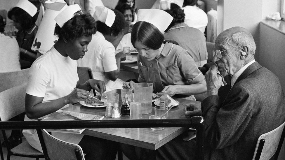 Photo of immigrant nurses