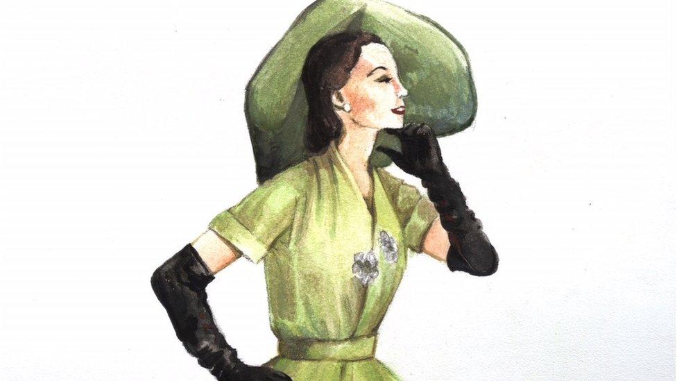 Mujer de los años 50