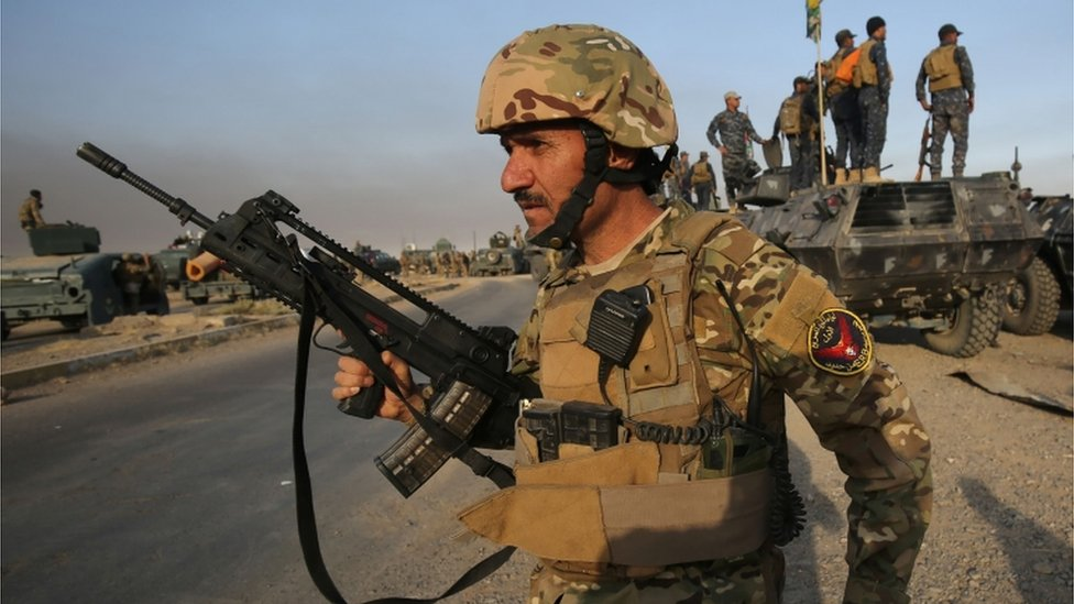 forces approaching Mosul