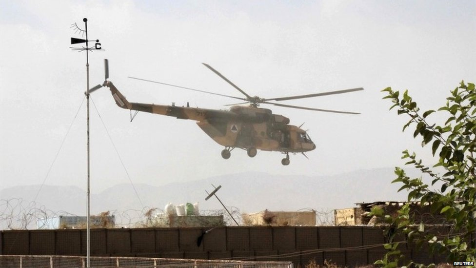 Afghan special forces arriving in Kunduz, 29 September 2015