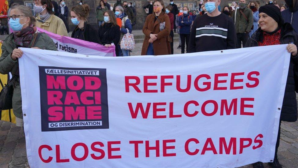 التحركات الحكومية للحد من الهجرة أثارت مظاهرات