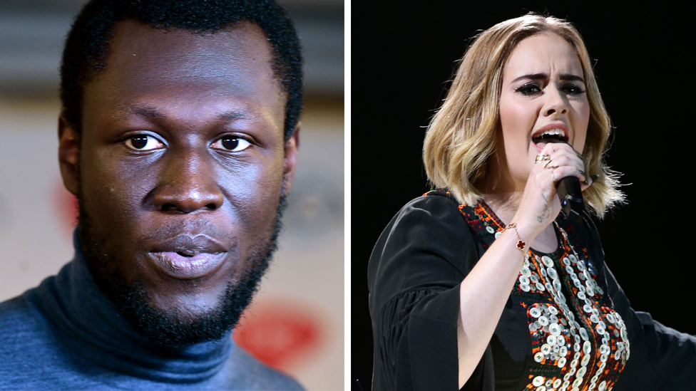 Stormzy and Adele back emotional Grenfell cladding video