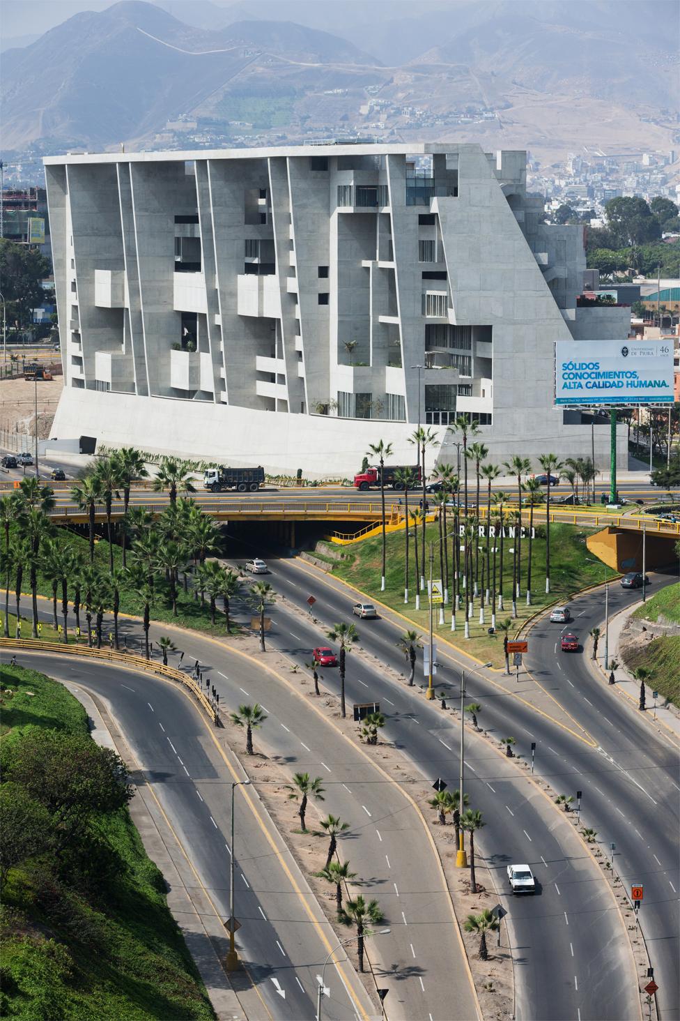 Campus de la UTEC en Lima.