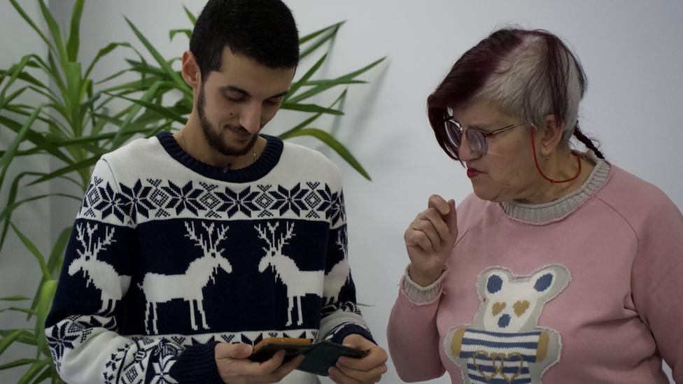 Markus sa majkom u Beogradu, 2019.