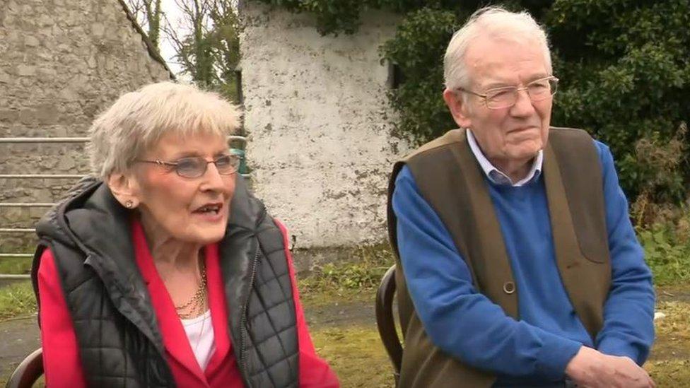 John Bermingham and Mary Long