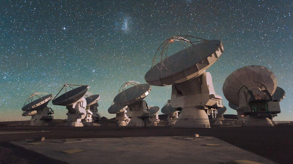 Radiotelescopios de ALMA