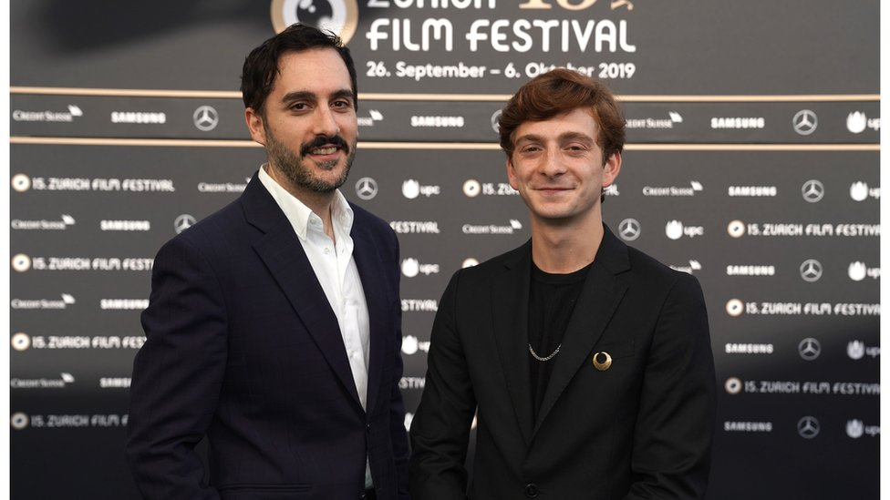 Director Levan Akin and star Levan Gelbakhiani